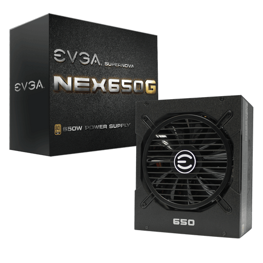 EVGA SuperNOVA 650 G1, 80+ GOLD 650W,  Includes FREE Power On Self Tester Power Supply 120-G1-0650-XR - V&L Canada