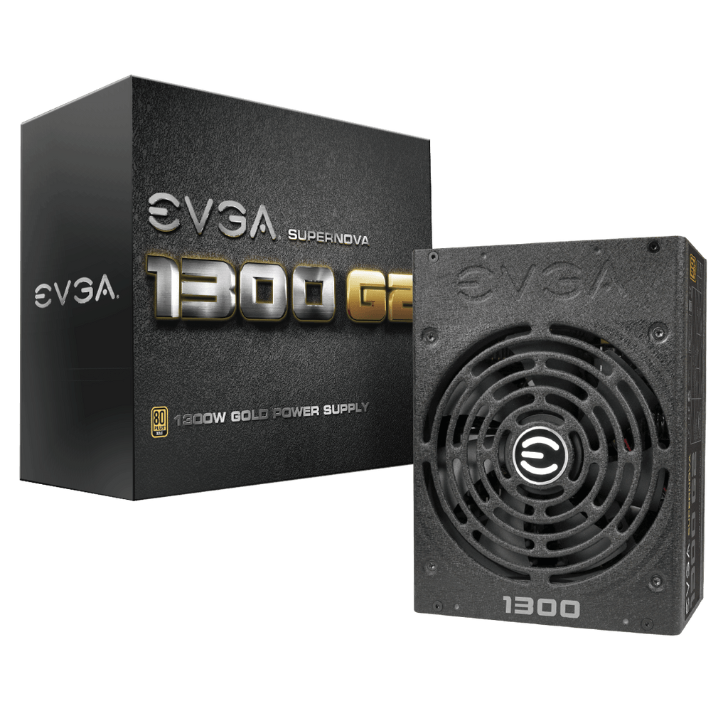 Image of EVGA SuperNOVA 1300 G2, 80+ GOLD 1300W, Fully Modular, 10 Year Warranty, Includes FREE Power On Self Tester Power Supply 120-G2-1300-XR