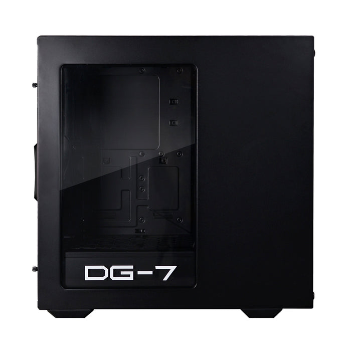 EVGA DG-73 Matte Black Mid-Tower, Acrylic Window, Gaming Case 130-P0-0020-KR - V&L Canada