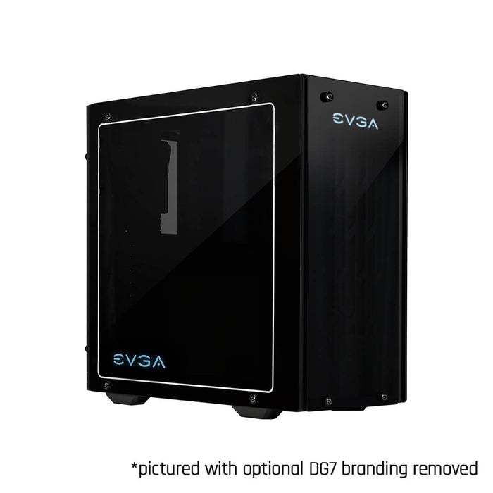 EVGA DG-76 Matte Black Mid-Tower, 2 Sides of Tempered Glass, RGB LED and Control Board, Gaming Case 160-B0-2230-KR - V&L Canada