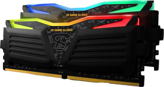Geil Super Luce Rgb Intel 16GB (2X8GB) DDR4 3200MHZ CL16 Desktop Memory Model (GLTS416GB3200C16ADC)