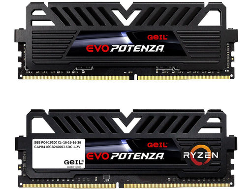 Geil Evo Potenza Amd 16GB (2 X 8GB) 288-PIN DDR4 Sdram DDR4 3000 (PC4 24000) Desktop Memory Model