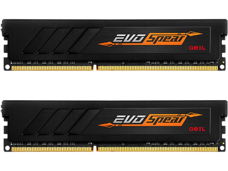 Geil Evo Spear Amd 16GB (2 X 8GB) 288-PIN DDR4 Sdram 3200 (PC4 25600) Desktop Memory Model (GASB416GB3200C16ADC)