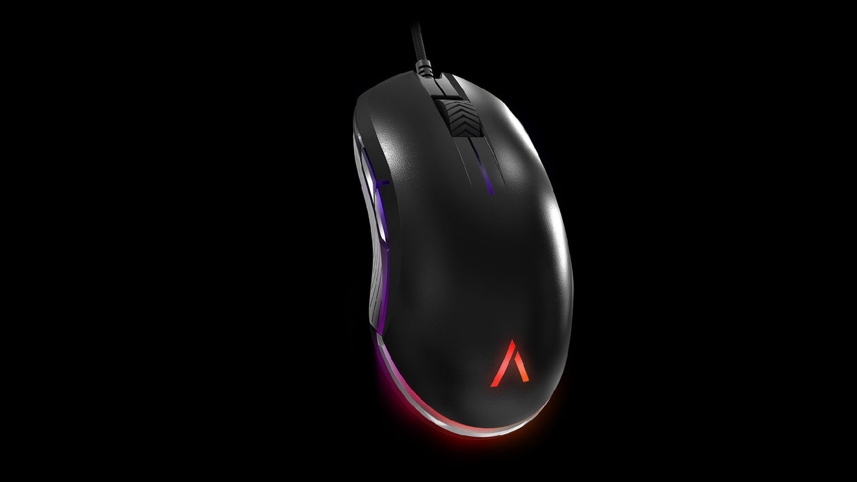 AZIO ATOM Ambidextrous Backlit Gaming Mouse - V&L Canada