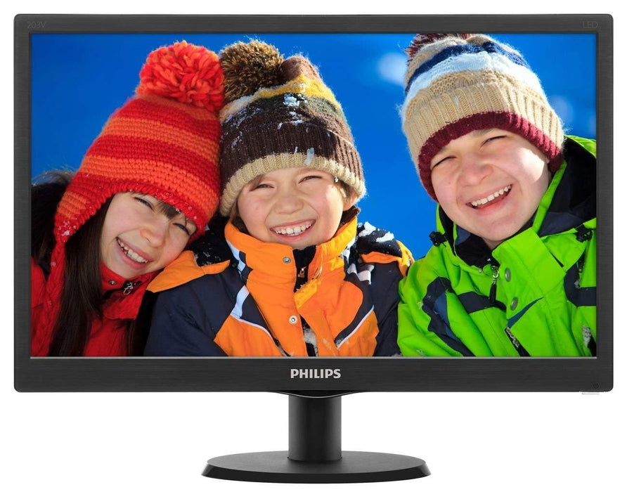 "Philips V Line 203V5LSB2/01 LED display 49.5 cm (19.5"") HD+ LCD Black"