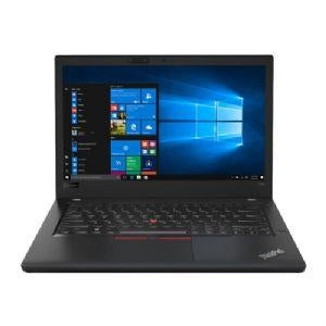 "Lenovo ThinkPad T480 20L5 Laptop PC - Intel Core i5-8350U 1.7GHz, 4GB RAM, 500GB HDD + 16GB SSD Cache, 14"" 1920x1080 (FHD), UHD Graphics 620, WiFi, BT 4.1, Webcam, Win 10 Pro 64-bit - 20L50054US"
