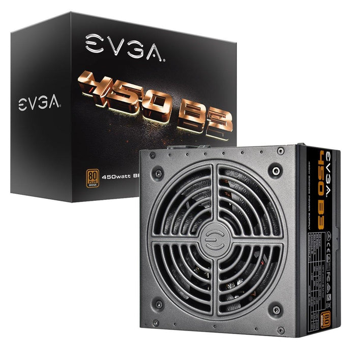 EVGA 450 B3, 80+ BRONZE 450W, Fully Modular, EVGA ECO Mode, 5 Year Warranty, Compact 150mm Size, Power Supply 220-B3-0450-V1
