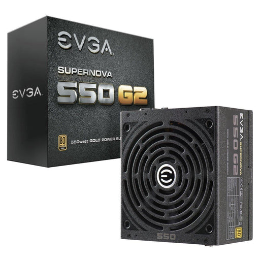 EVGA SuperNOVA 550 G2, 80+ GOLD 550W, Fully Modular, EVGA ECO Mode, Includes FREE Power On Self Tester Power Supply 220-G2-0550-Y1
