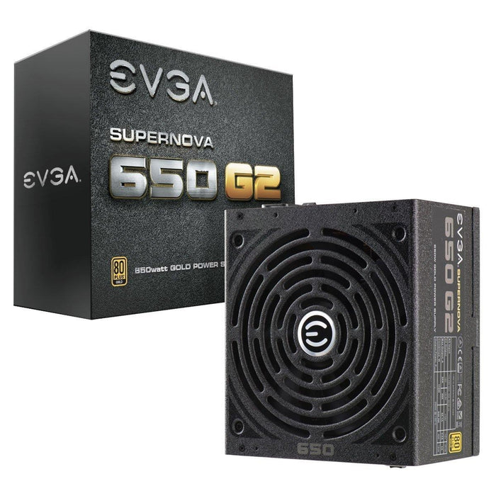 EVGA SuperNOVA 650 G2, 80+ GOLD 650W, Fully Modular, EVGA ECO Mode, 7 Year Warranty, Includes FREE Power On Self Tester Power Supply 220-G2-0650-Y1