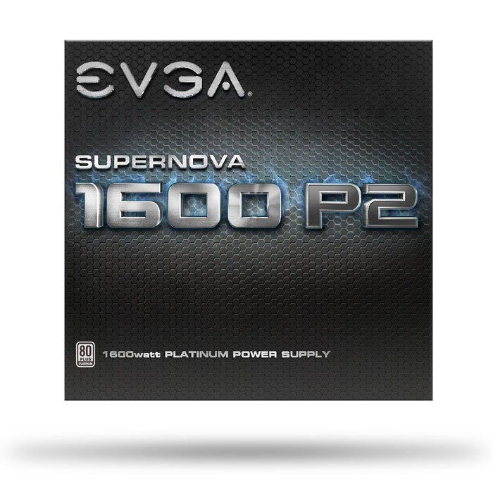EVGA SuperNOVA 1600 P2, 80+ PLATINUM 1600W, Fully Modular, EVGA ECO Mode, 10 Year Warranty, Includes FREE Power On Self Tester, Power Supply 220-P2-1600-X1