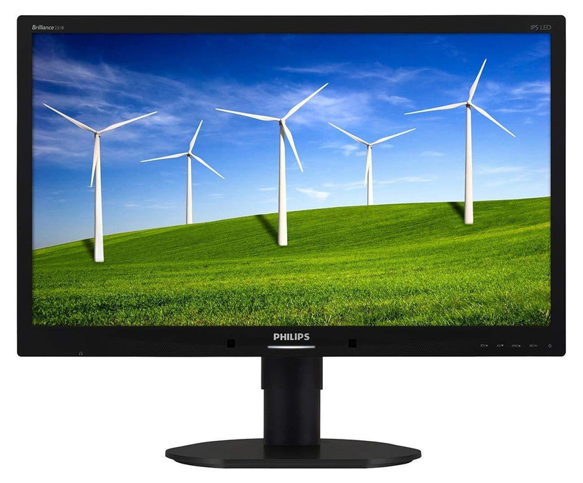 "Philips Brilliance 231B4QPYCB LED display 58.4 cm (23"") Full HD Flat Black"