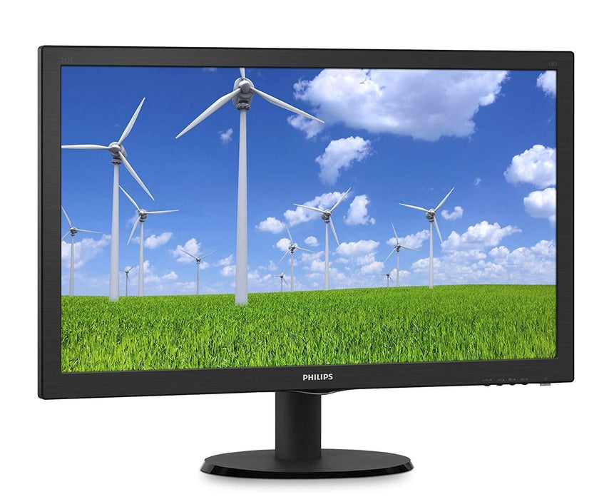 "Philips 243S5LDAB 24""Class LED Monitor, TN Panel, 1920 x 1080, 1ms, VGA, DVI, HDMI, Speakers"