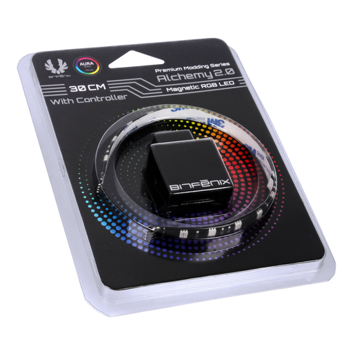 BitFenix Alchemy 2.0 Magnetic RGB LED Strip and Controller Options