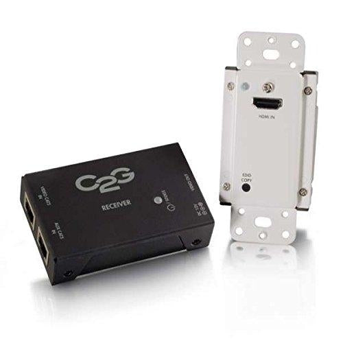 C2G 29374 Cables to Go Short Range HDMI Over Cat5 Extender Wall Plate to Box - V&L Canada
