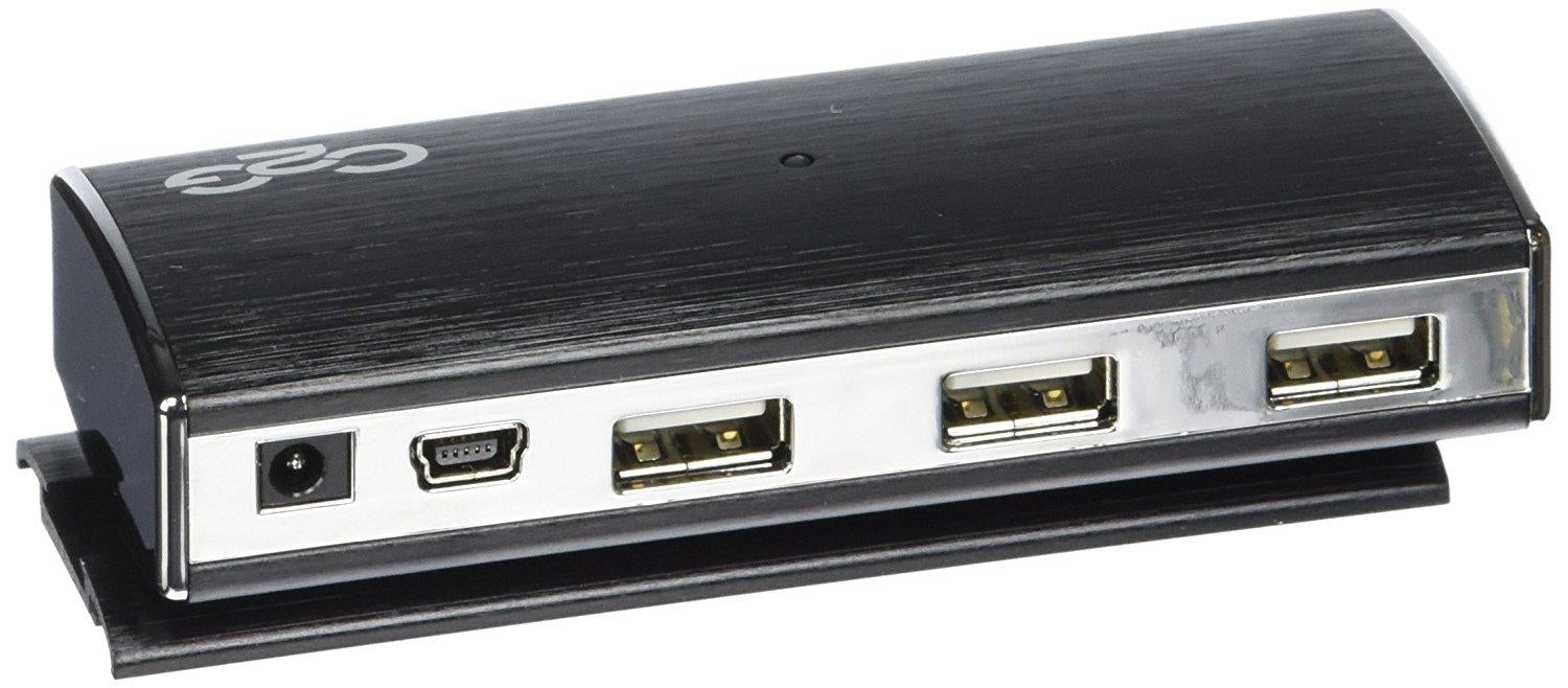 Usb 2.0 Aluminum Hub 7-Port W Base (29509) - V&L Canada