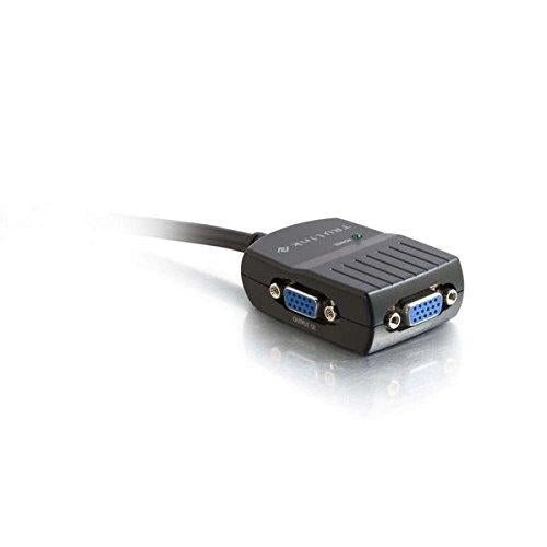 C2G 29587 VGA (D-Sub) VGA (D-Sub) Black cable interface/gender adapter - V&L Canada