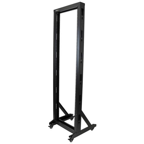 StarTech Accessory  42U 2-Post Server Rack with Casters Retail 2POSTRACK42 - V&L Canada