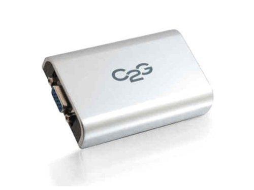 C2G USB - HDMI USB Mini-B HDMI Grey cable interface/gender adapter (30547) - V&L Canada