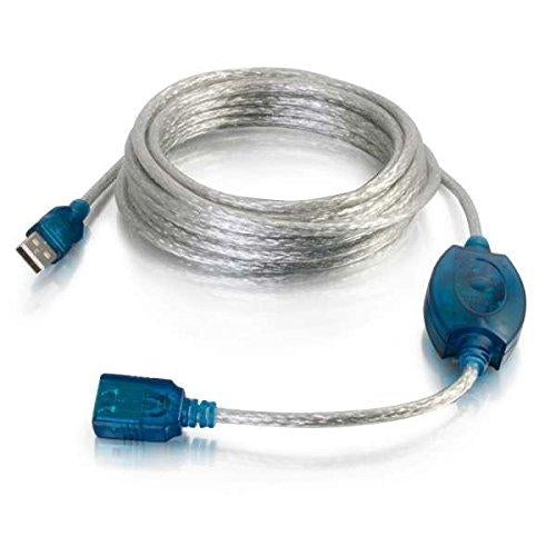 C2G USB A Male to A Female Active Extension Cable 5m 5m USB A USB A Beige USB cable (39978) - V&L Canada