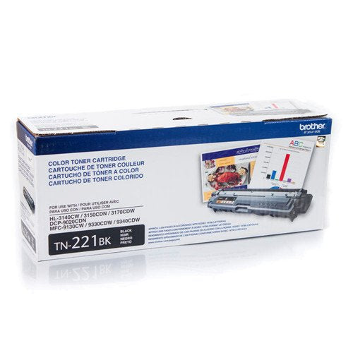 BROTHER TN221BK (004) BROTHER Toner TN-221BK Negro HL-3140 MFC-9130/9330