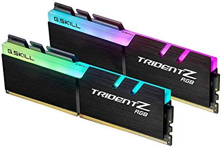 G.SKILL TridentZ RGB Series 16GB (2 x 8GB) 288-Pin DDR4 SDRAM DDR4 4000 (PC4 32000) Intel Z270 / Z370 Desktop Memory Model F4-4000C18D-16GTZR