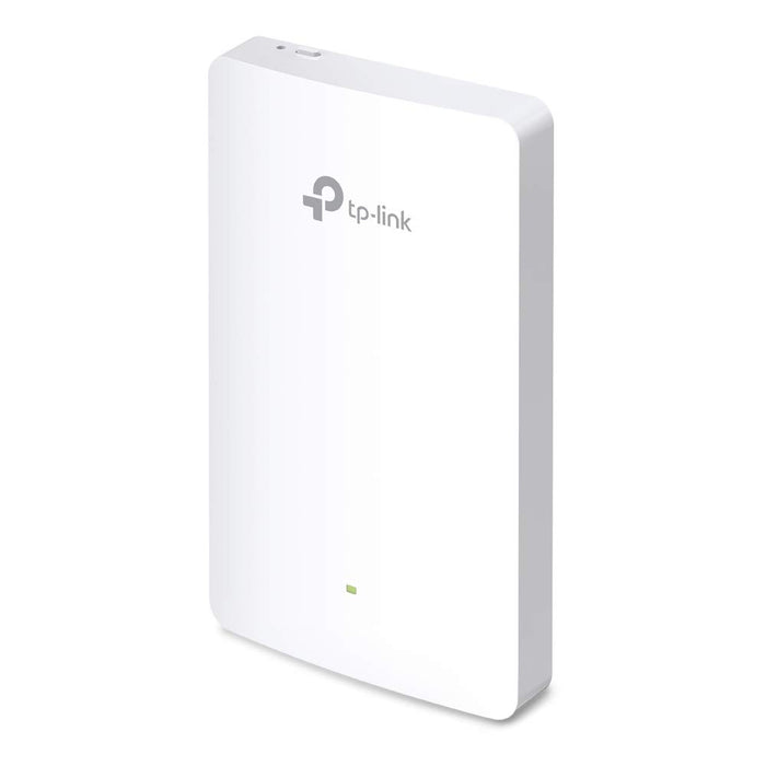 TP-Link EAP225-Wall AC1200 MU-Mimo Omada Cloud Wall-Plate Wireless Wi-Fi Access Point - Supports 802.3AF/at and POE Pass-Through