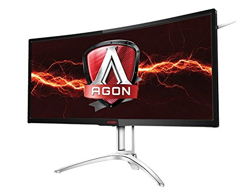 "AOC Agon AG352UCG 35"" Curved Gaming Monitor, G-Sync, 21:9, 3440x1440 Resolution - V&L Canada"