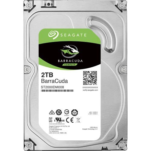 "Seagate ST2000DM008 Hard Drives 2000 256 MB Cache 3.5"" Internal Bare or OEM Drives"