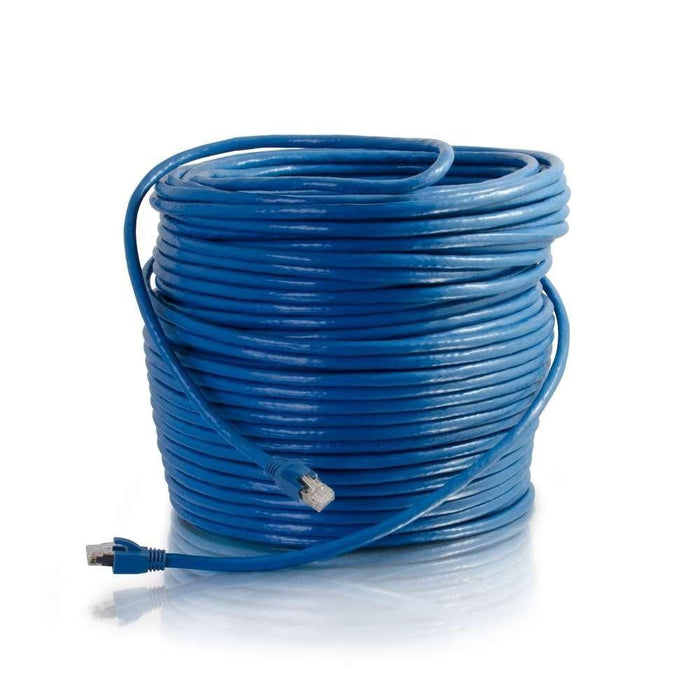 C2G 300ft Cat6 91.44m Cat6 S/FTP (S-STP) Blue networking cable (43124) - V&L Canada