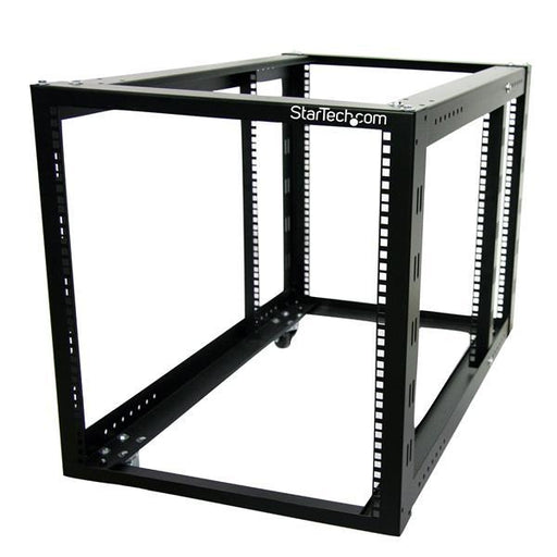 StarTech.com 12U 4 Post Server Equipment Open Frame Rack Cabinet w/ Adjustable Posts & Casters 4POSTRACK12A - V&L Canada