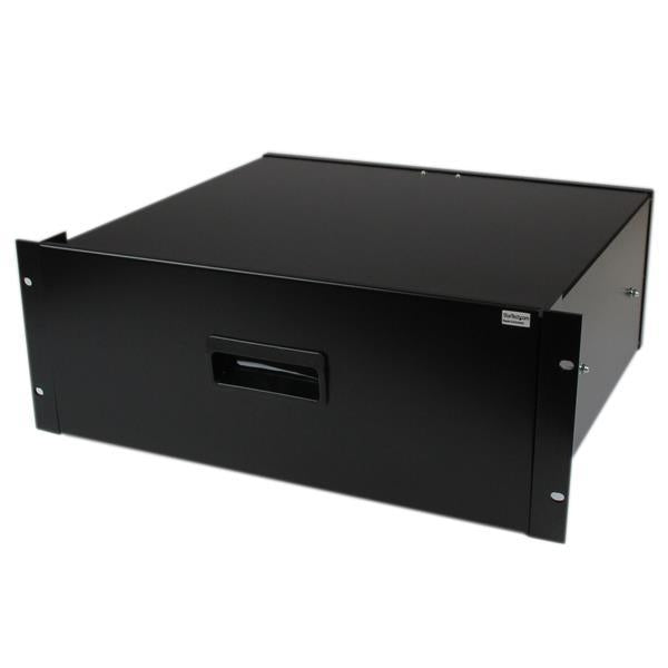 StarTech.com 4U Black Steel Storage Drawer for 19in Racks and Cabinets 4UDRAWER - V&L Canada