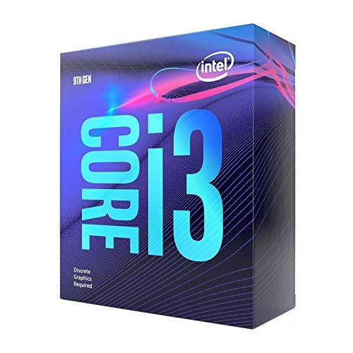 Intel Core i3-9100F Desktop Processor 4 Core Up to 4.2 GHz Without Processor Graphics LGA1151 300 Series 65W (BX80684I39100F)