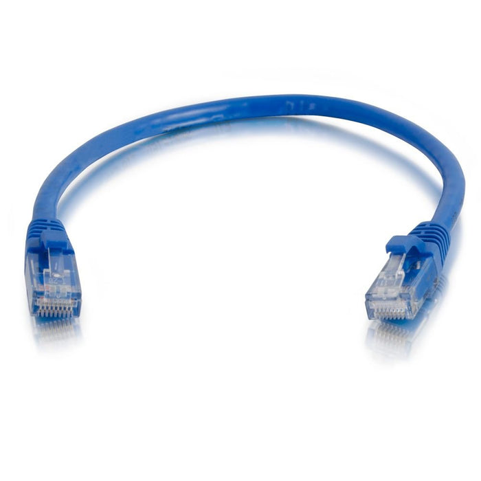 C2G 1ft Cat5e Snagless Unshielded (UTP) Ethernet Network Patch Cable - Blue (23828)