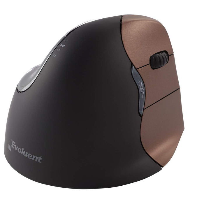 Evoluent Vertical Mouse Right Hand Wireless, Small (VM4SW)