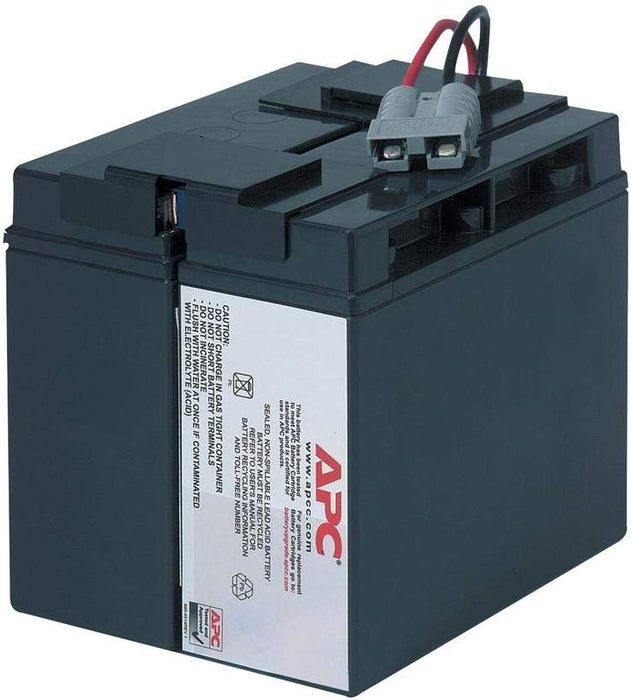 APC Replacement Battery Cartridge #7 - UPS battery - 1 x lead acid (RBC7)