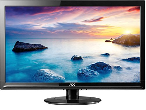 AOC e2425SWD 24'' 1080p Full HD LED-Backlit LCD Monitor, Black - V&L Canada