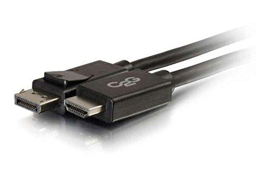 C2G / Cables to Go 54325 DisplayPort Male to HD Male Adapter Cable, Black (3 Feet) - V&L Canada