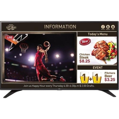 "LG 55LV640S 55"" Full HD 400cd/m² Black hospitality TV"