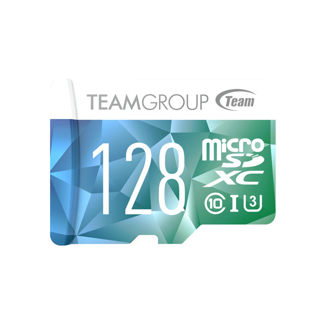 *3 Days Deal* Team Group 128GB Color II microSD XC UHS-I/U3 Class 10 Memory Card  Speed Up to 90MB/s & Get Team Group C145 64GB USB Flash Drive  for Free