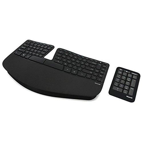 Microsoft Sculpt Ergonomic for Business RF Wireless QWERTY English Black 5KV-00001 - V&L Canada