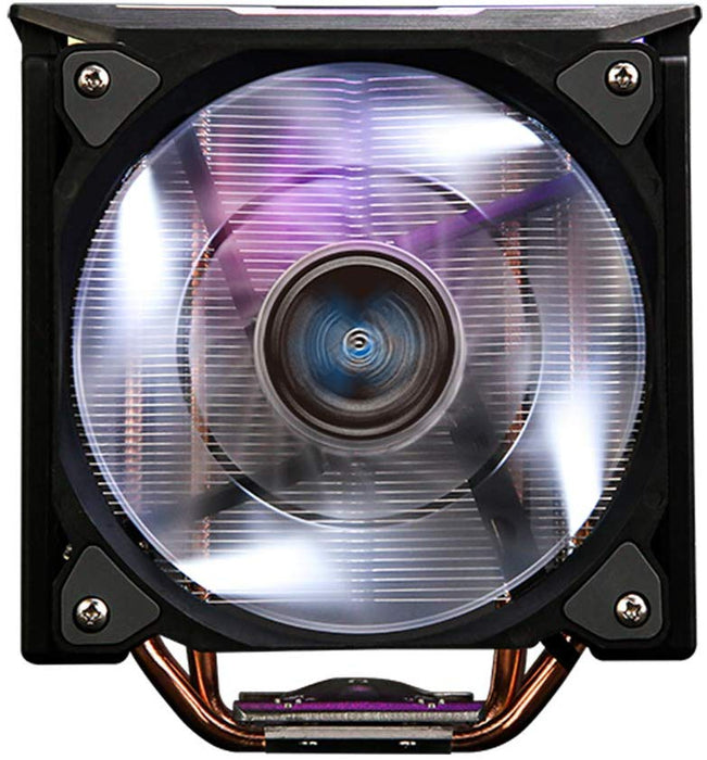 ZALMAN CNPS10X Optima II Black, Intel 9th Gen, AMD Ryzen Compatible, Spectrum RGB LED Lighting Effect, Dual Blade Fan