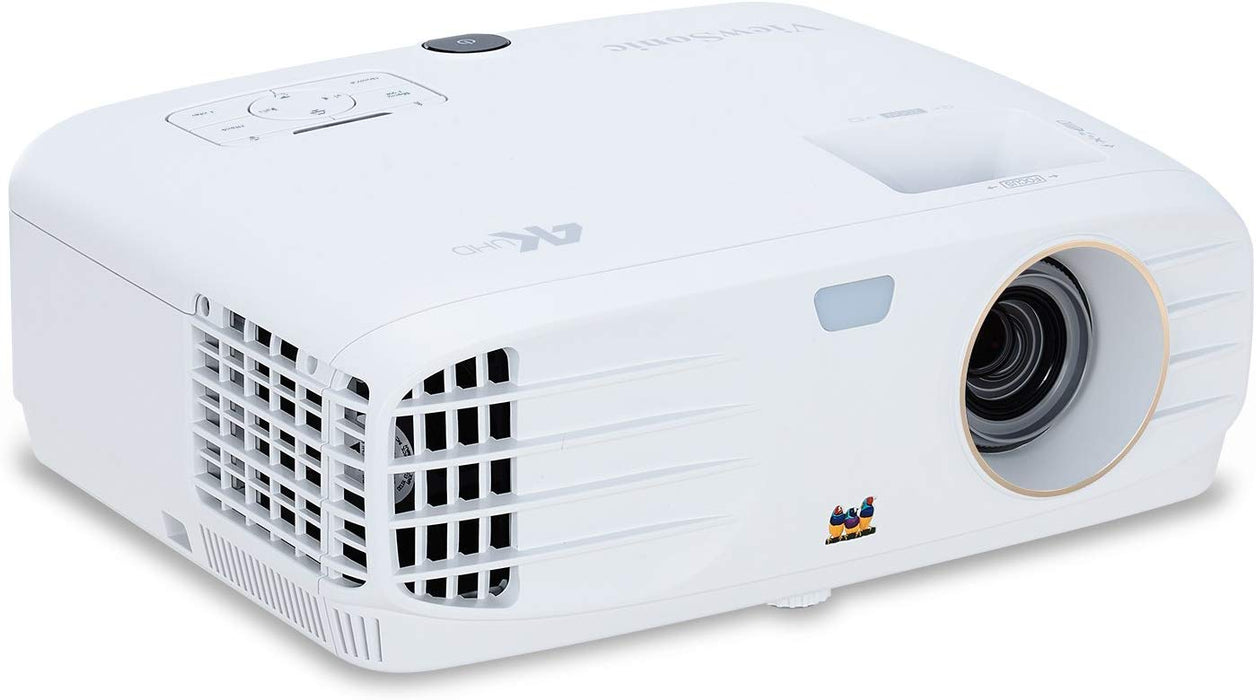 ViewSonic PX747-4K 4K Projector Ultra HD with 3500 Lumens HDR Support and Dual HDMI for Home Theater Day and Night
