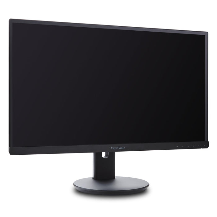 ViewSonic VG2453 24 Inch IPS 1080p Ergonomic Frameless Monitor with HDMI and DisplayPort for Home and Office