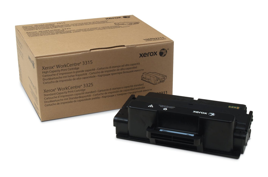 Black Standard Capacity Toner Cartridge; Workcentre 3325; North America, Eea; Bl (106R02311)