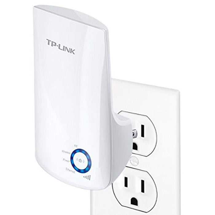 TP-Link N300 Wifi Extender (TL-WA850RE) - Rang Extender, Repeater, Wifi Signal Booster, Access Point, Easy Set-Up, Extends wifi to Smart Home & Alexa Devices