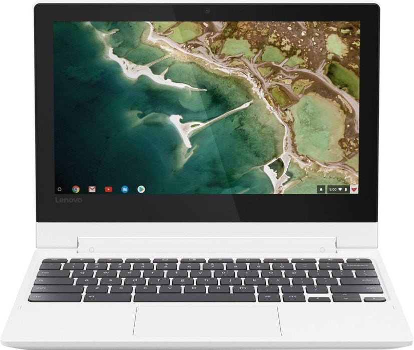 Lenovo Chromebook 2-in-1 Convertible Laptop, 11.6-Inch HD (1366 x 768) IPS Display, MediaTek MT8173C Processor, 4GB LPDDR3, 32GB eMMC, Chrome OS, Blizzard White (81HY0001US)