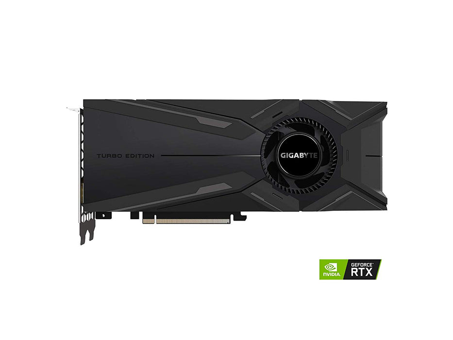 GIGABYTE GeForce RTX 2080 Turbo OC 8G Graphics Card, Turbo Style Fan, 8GB 256-Bit GDDR6, GV-N2080TURBO OC-8GC Video Card (GV-N2080TURBO-8GC)