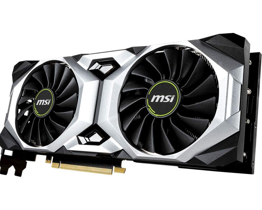 MSI RTX 2080 TI Ventus 11G OC Gaming GeForce 352-Bit HDMI/DP/USB Ray Tracing Turing Architecture Graphics Card