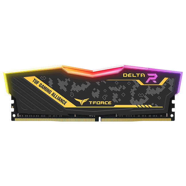 TEAM GROUP 16GB Delta TUF Gaming RGB DDR4 2666MHz CL18 KIT (TF9D416G2666HC18HDC01)