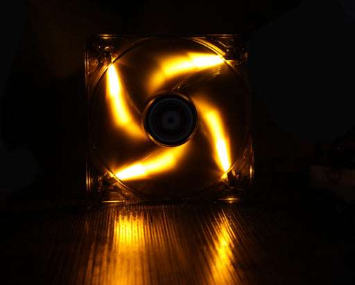 BitFenix Spectre PWM 140mm Orange LED Case Fan - V&L Canada
